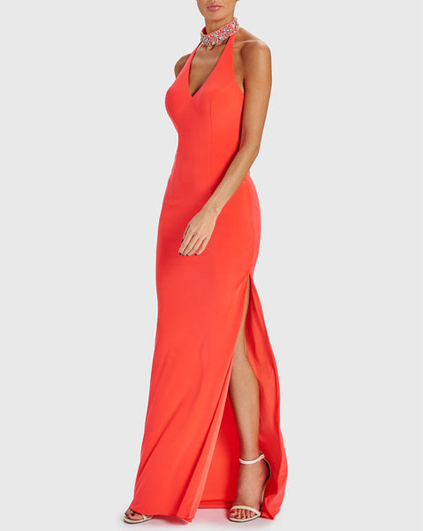 Forever Unique Promise Coral Dress