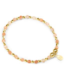 Indigo Queen Sunstone and Gold Vermeil Bracelet