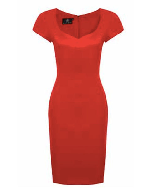 Hybrid Erin Red Dress