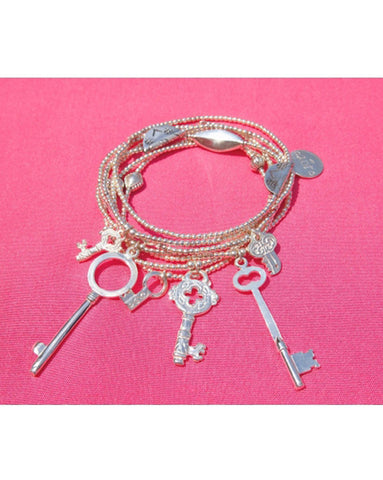 Joy Jewellery Key to My Heart Bracelets