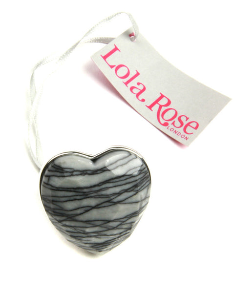 Lola Rose Renata ring in Picasso Marble