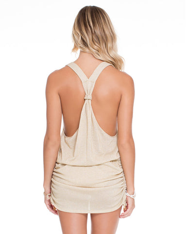 Luli Fama Cosita Buena T Back Mini Dress
