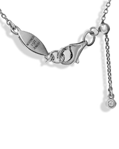 Penny Levi Sterling Silver Circle of Life Necklace