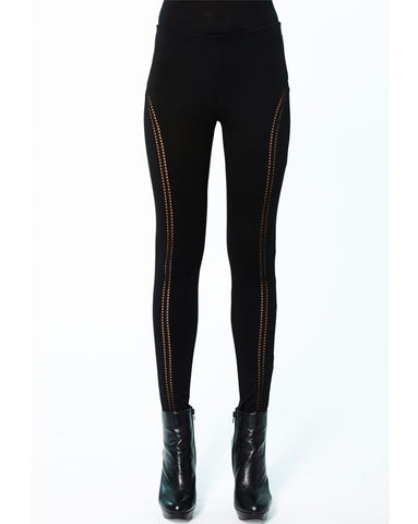 Prey of London Ladder Trim Leggings