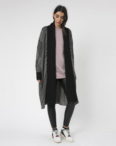 Religion Clothing Monochrome Cardigan