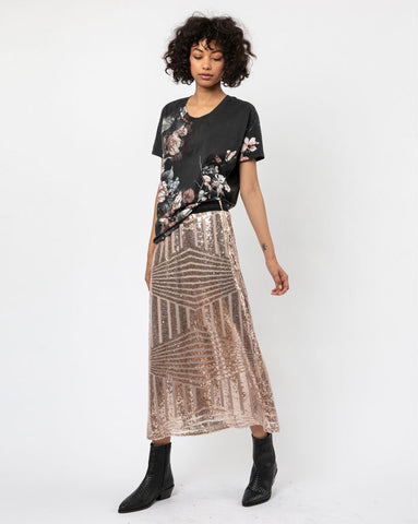 Religion Clothing Season Skirt in Nude