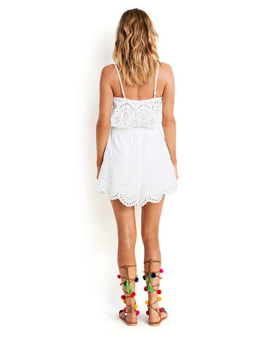 Seafolly Broderie Playsuit