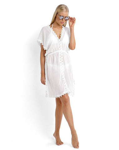 Seafolly Field of Dreams White Dress
