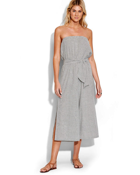 Seafolly Fine Stripe Strapless Jumpsuit