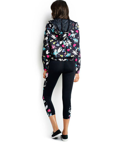 Seafolly Flower Festival Windbreaker Hoodie
