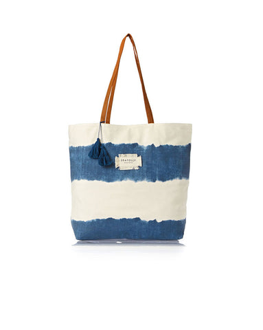 Seafolly Indian Summer Tote in Indigo