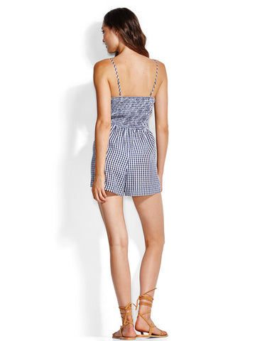 Seafolly Capri Check Gingham Playsuit
