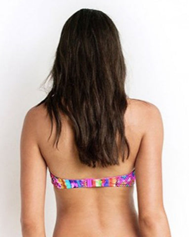 Seafolly Mexican Summer Bustier Bandeau Top