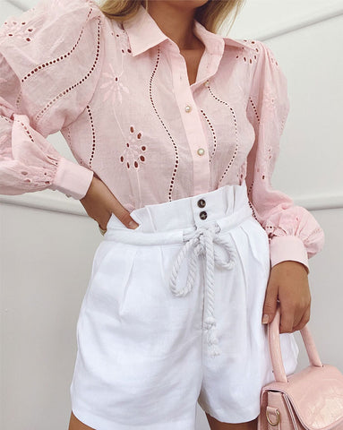 Seven Wonders Knowles Blouse in Pink