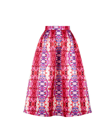 Skeena S Lyza Skirt in Heart Print