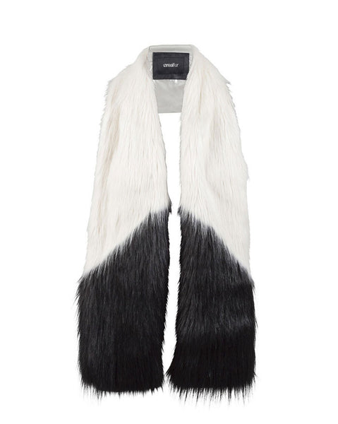 Unreal Fur Opposites Attract Scarf