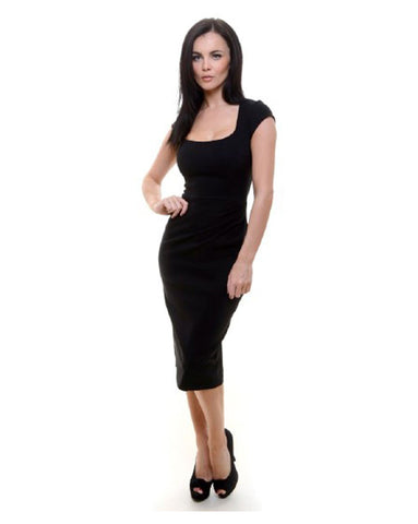 The Pretty Dress Company Miracle dress in black