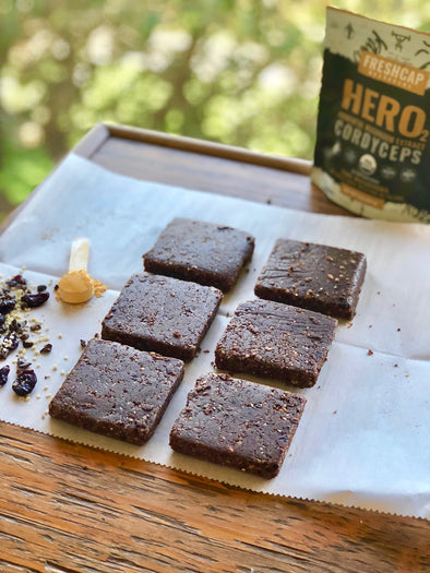 Get Up And Go With Energizing HERO Bars