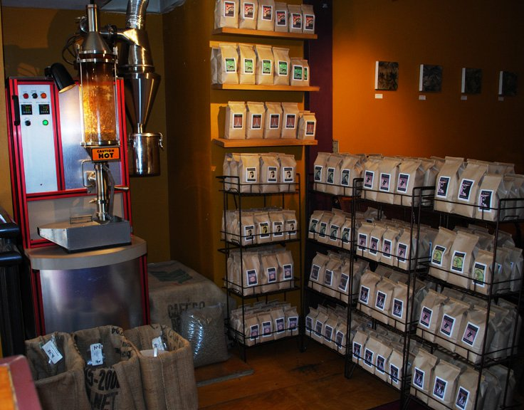 Fair trade organic coffee, coffee delivered to your home