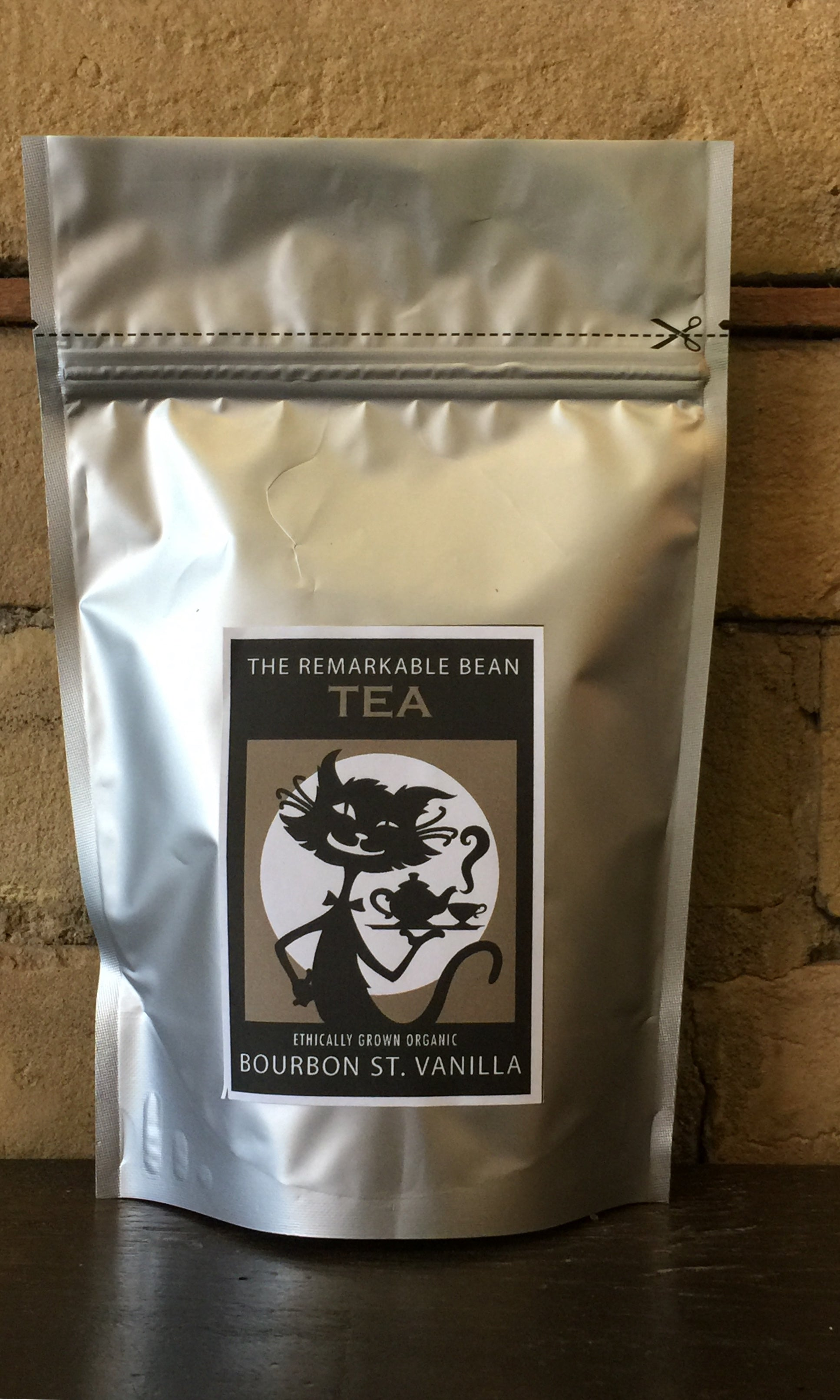 Bourbon St. Vanilla LOOSE LEAF TEA 109 GRAMS