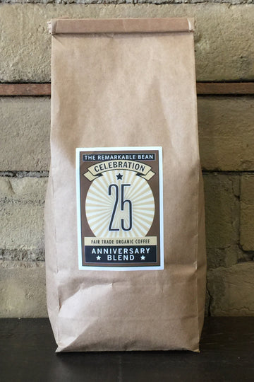 25 Anniversary Blend Coffee——medium roast-Smokey, rich-454 gram