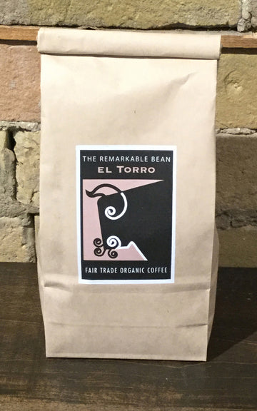 El Torro Coffee— -medium roast-earthy, Mellow -454 grams