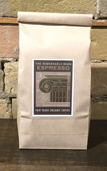 Espresso Coffee—- dark roast- rich, well balanced -  454 grams