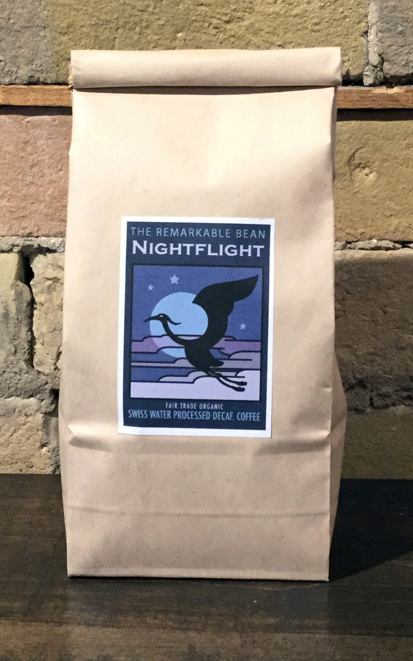 Nightflight Decaf. Fair Trade Organic Coffee 454grams