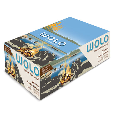WOLO WanderBar™ S'Mores Protein Bar - Gluten Free & Soy Free