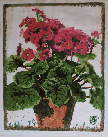 Ilsa Koch Amberg Red Geraniums