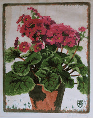"""Red Geraniums"" by Ilsa Koch Amberg"