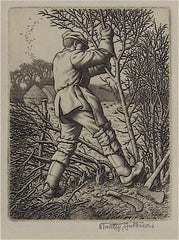 """Hedge Laying"" by Stanley Anderson"