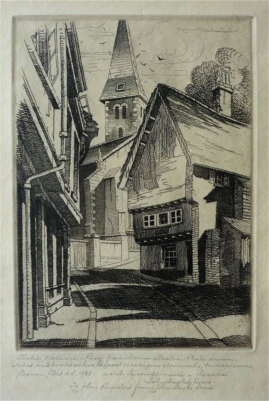 John Taylor Arms Sketch: Norwich