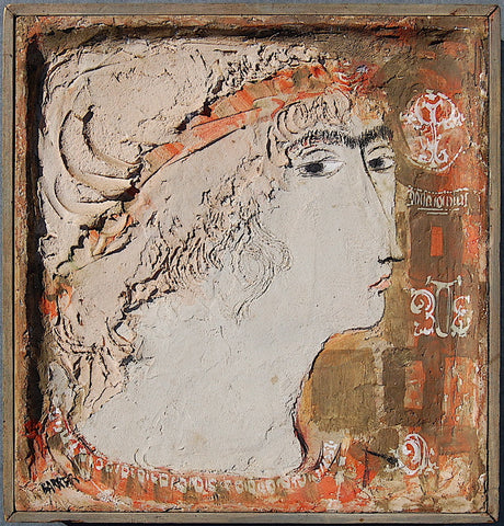 Gertrude Barrer Portrait of Woman with Red Headband