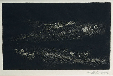 Hyman Bloom Two Fish