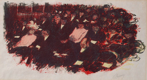 Pierre Bonnard Au Theatre
