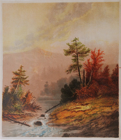 Benjamin Champney White Mountains, New Hampshire