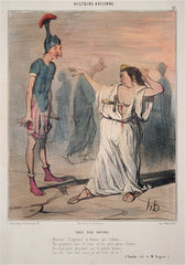 """Enee Aux Enfers"" by Honore Daumier"