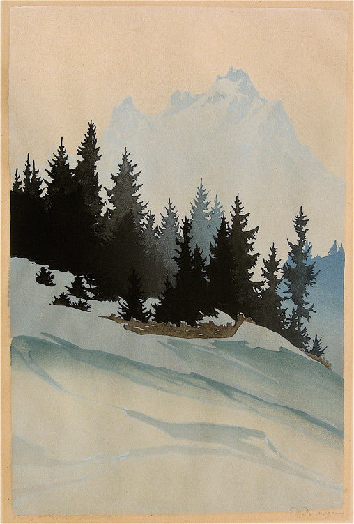 Oscar Droeges Mountain Spruce in Winter