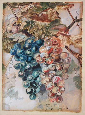 Frank T. Fay Grapes on the Vine