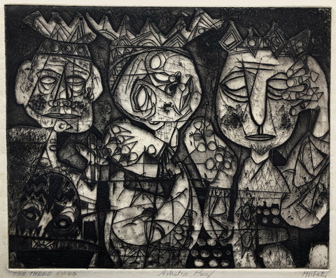 The Three Kings by Norman Gorbaty, Amer., (1932-2020)