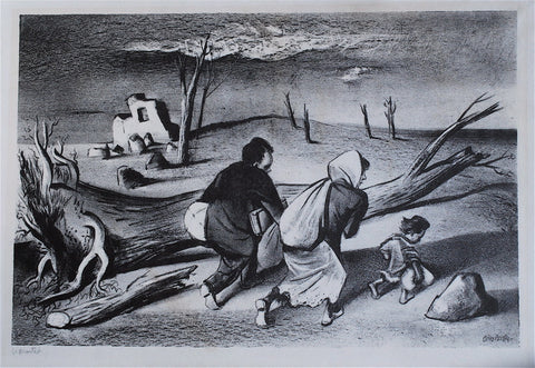 William Gropper Uprooted