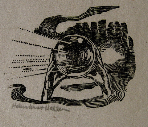 Helen West Heller Hands and Horn