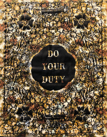 Do Your Duty by William Kent, Amer., (1919-2012)