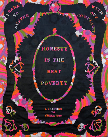 Honesty is The Best Poverty by William Kent, Amer., (1919-2013)