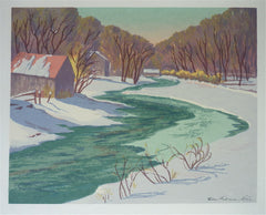 """Mid Winter"" by Ella Fillmore Lillie,  (Amer., 1887-1973)"