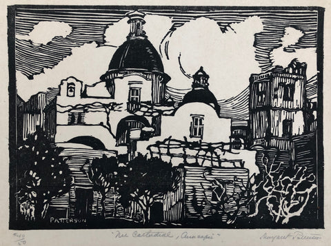 """The Cathedral, Anacapri"" by Margaret J. Patterson, Amer., 1867-1950)"