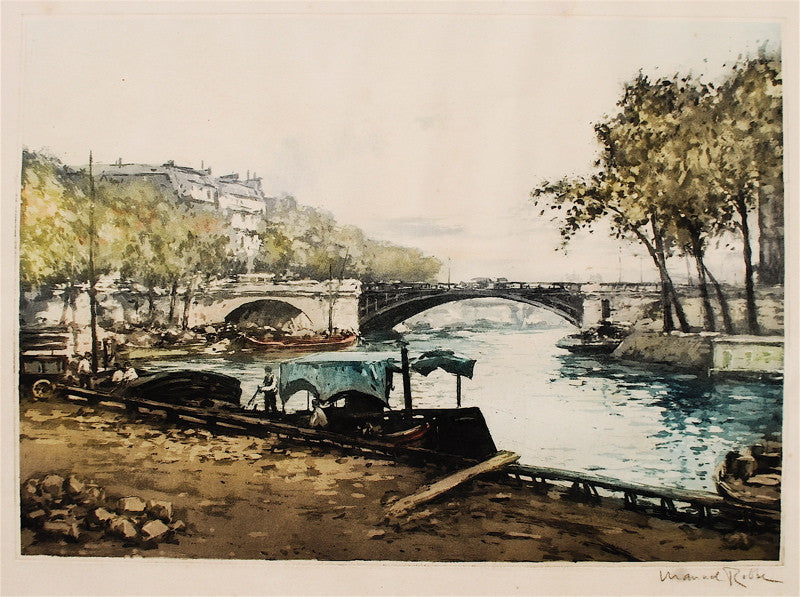 Manuel Robbe Along the Seine