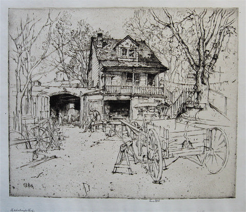 Ernest D. Roth The Wheelwright Shop, New Rochelle, New York