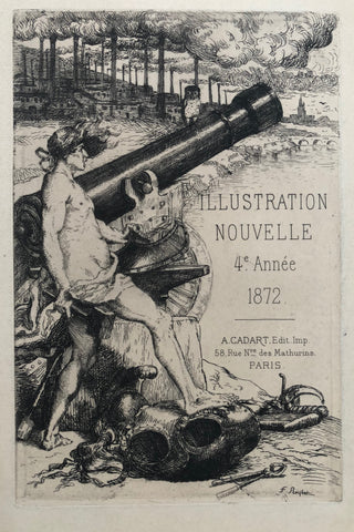 """Illustration Nouvelle 4e. Annee 1872"" by Ferdinand Roybet, Fr., (1840-1920)"